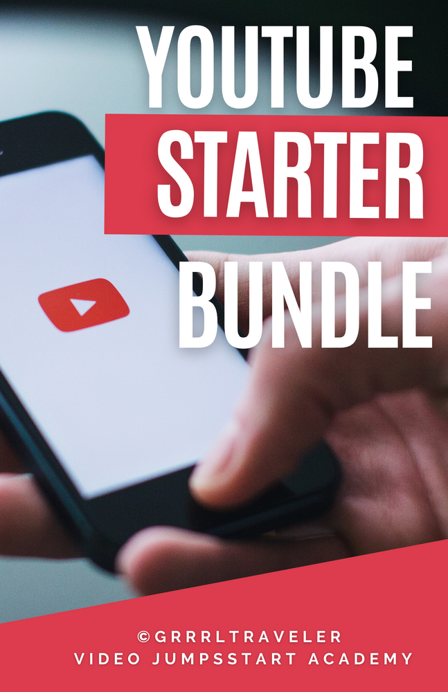 youtube starter bundle