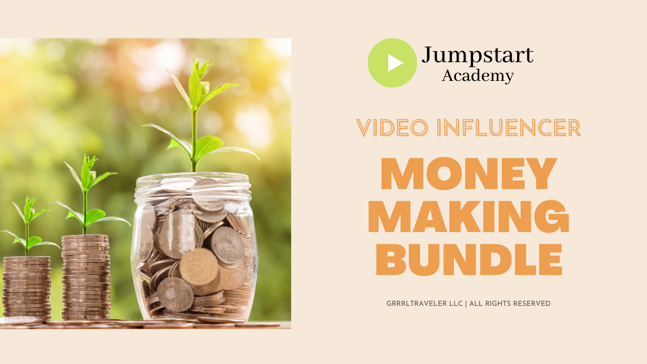 money making media kit for influencers
