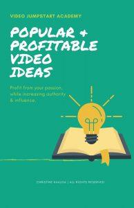 Youtube profitable video ideas