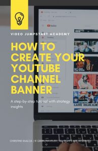 create your youtube channel banner art