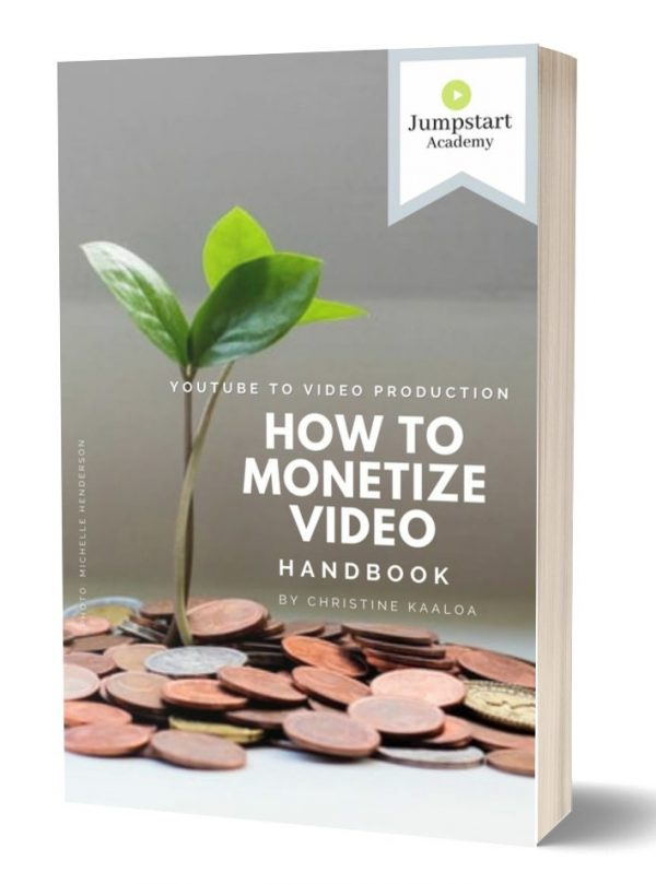 VJA 64 How to Monetize Video with YouTube ebook single e1615122526774