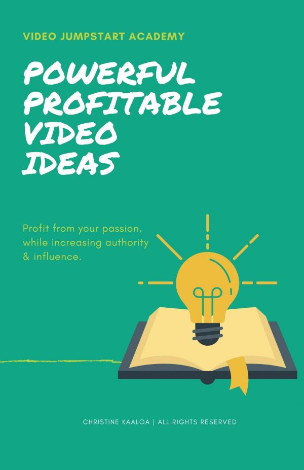 Powerfully Profitable Video Content Ideas for YouTube